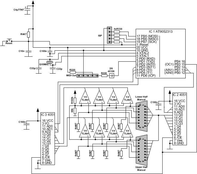 Simple (MIDI-)Keyboard