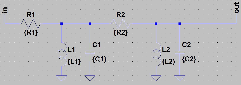 T914 Extended Fixed Filter Bank High Pass Circuit Diagram Input Buffer Section Lowpass Subcircuit Bandpass Highpass