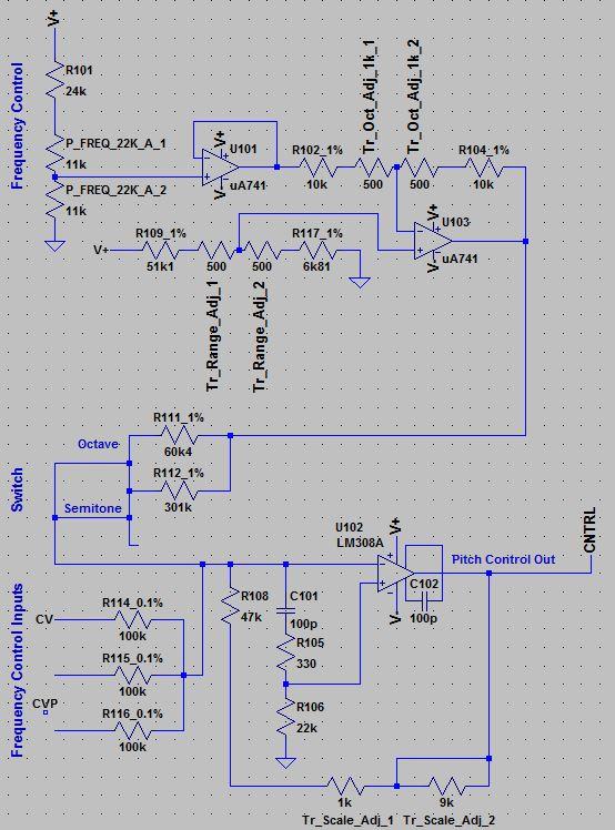 Moog Modular Clone Projekt - Schaltpläne