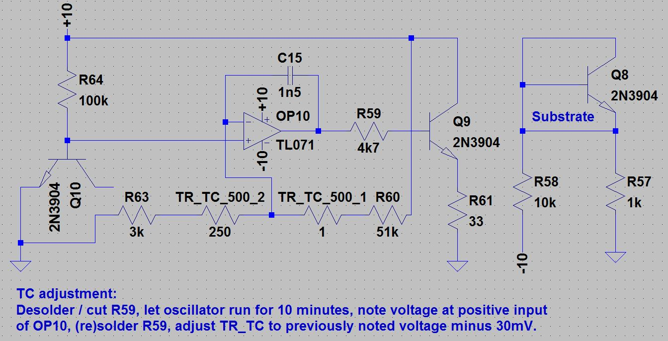 Oscillator Schematic